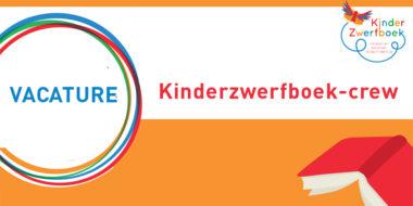 Vacature: kinderzwerfboek-crew gezocht!