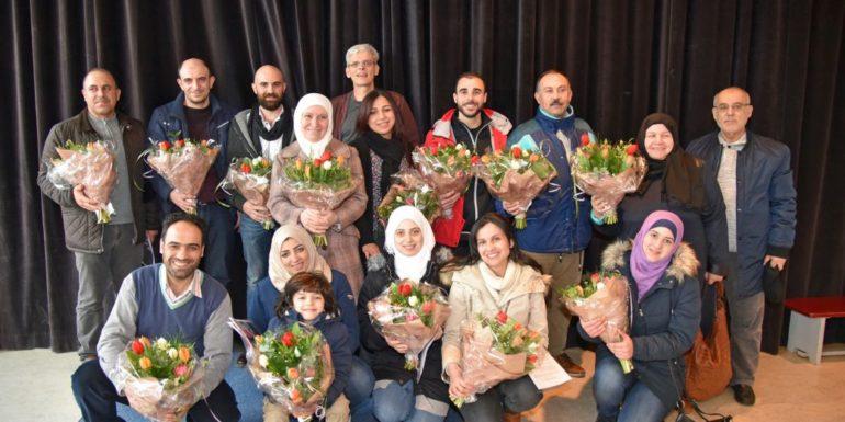 Nieuwkomers tekenen participatieverklaring