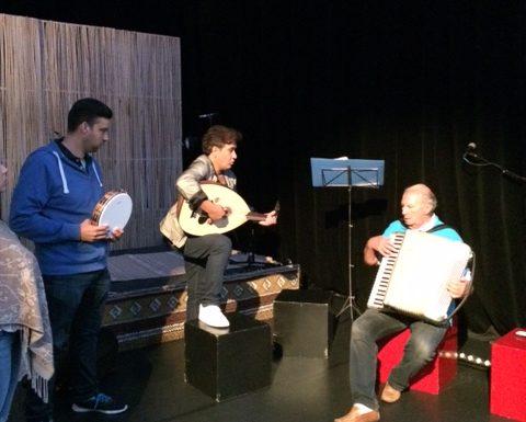 SamSam in het voorprogramma van Updiggin in Theater Sneek